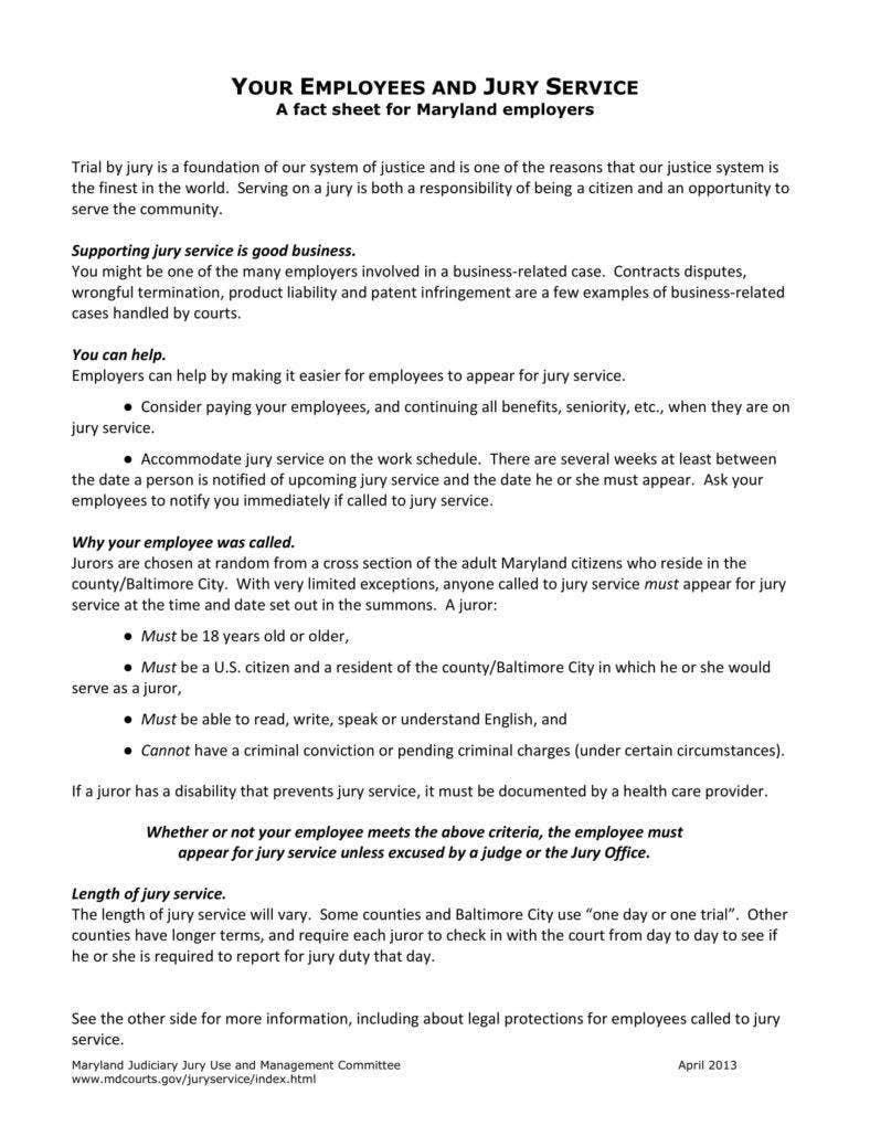 jury duty excuse letter sample self employed
