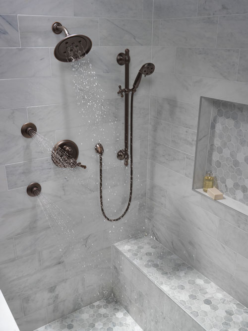 futura satin jet shower head installation guide