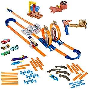 hot wheels track builder construction crash kit instructions