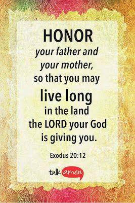 for honour parents guide
