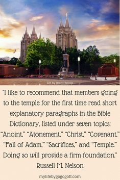 lds bible dictionary
