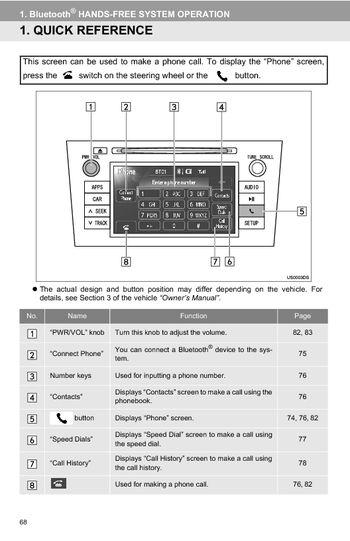 instructions for toyota 37409 radio