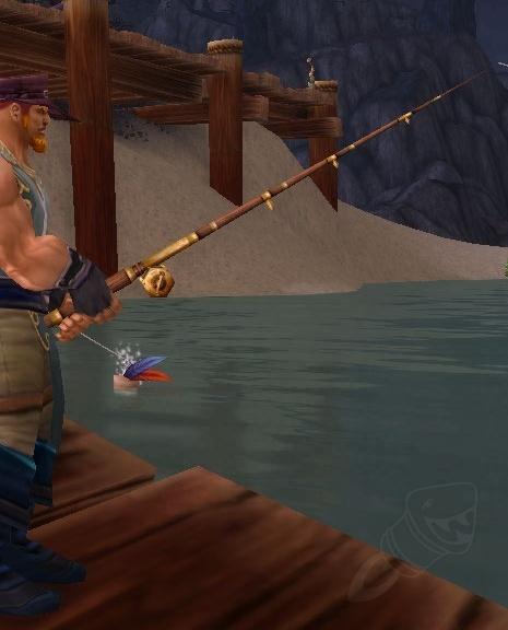 fishing pole guide wow