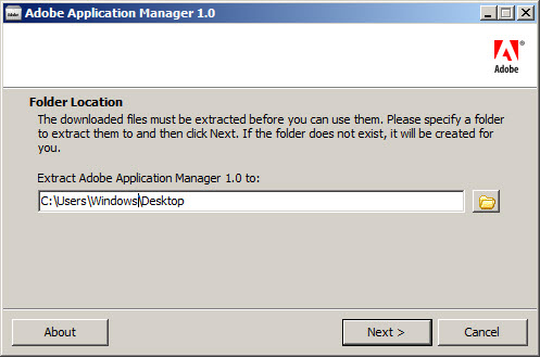how to close adobe application manager