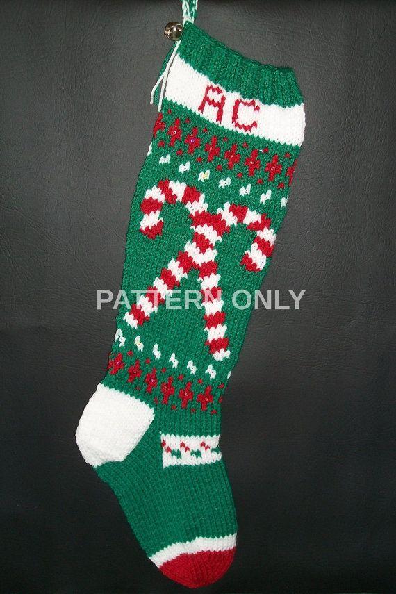 free christmas stocking pattern pdf