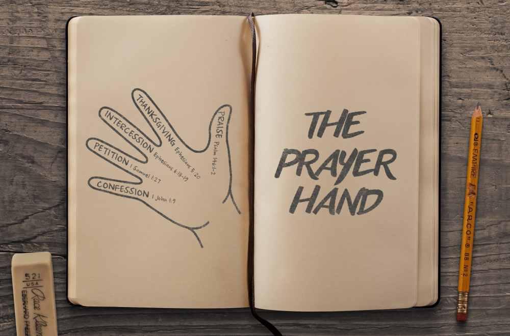 hand prayer guide