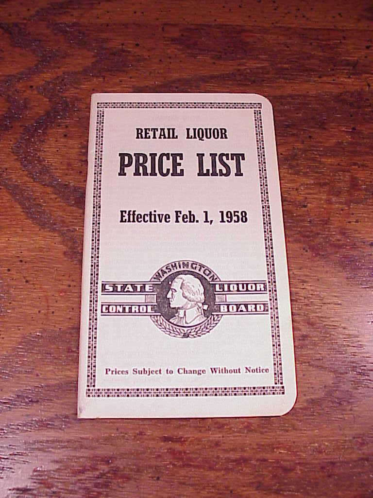 liquor pricing guide