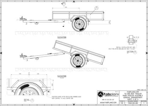 free motorbike trailer plans pdf