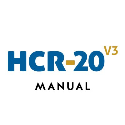 historical-clinical-risk management-20 version 3 hcr-20 v3 manual