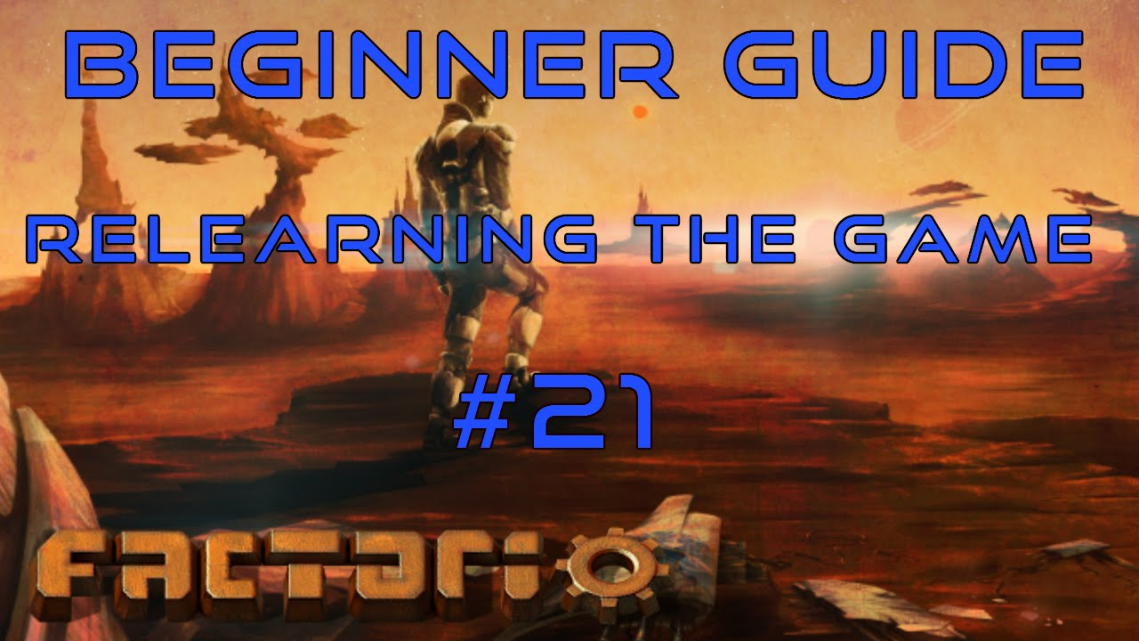 factorio beginner guide 2018