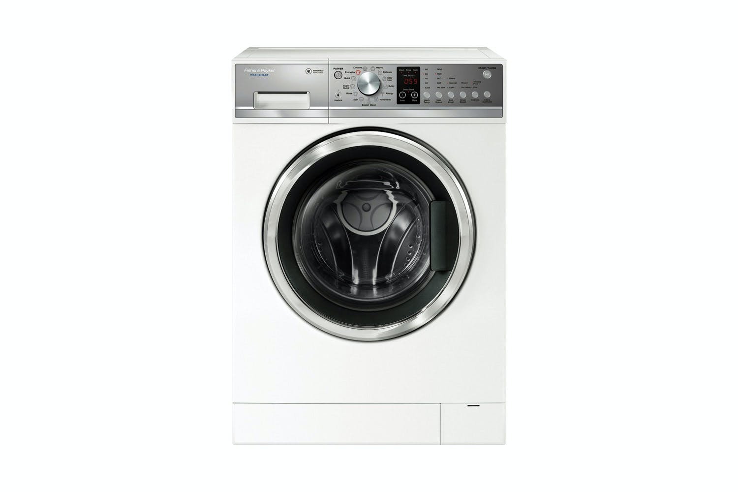 fisher and paykel washsmart front loader instructions