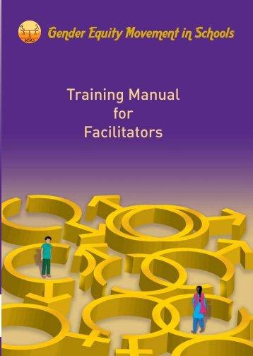 gender training manual