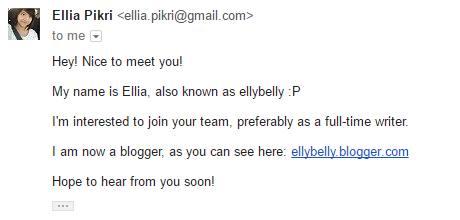 formal email greeting for job application