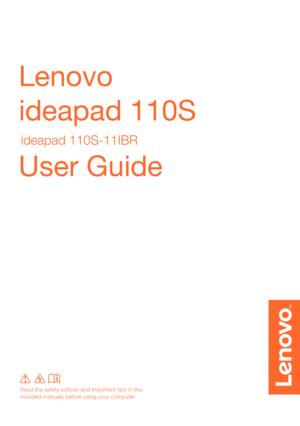 lenovo ideapad 110s manual