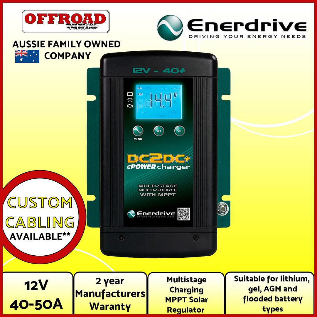enerdrive dc to dc charger manual
