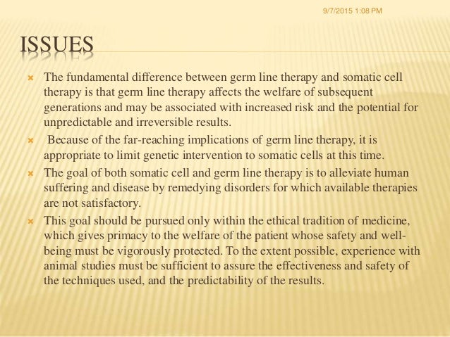 gene therapy ethical issues pdf