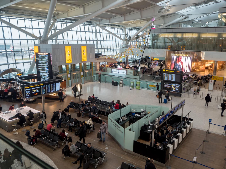 london airport guide