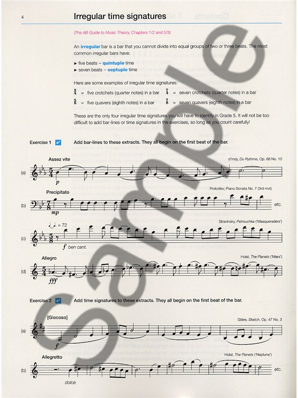 eric taylor music theory in practice grade 2 pdf
