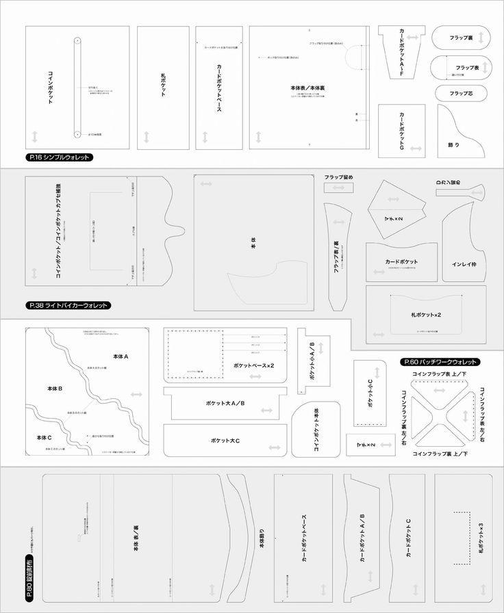 leather wallet pattern pdf free