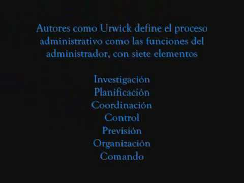 etapas del proceso administrativo pdf
