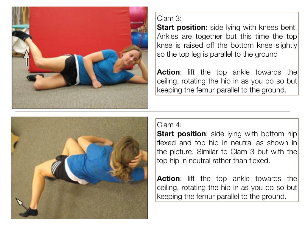 glute strengthening exercises for runners pdf