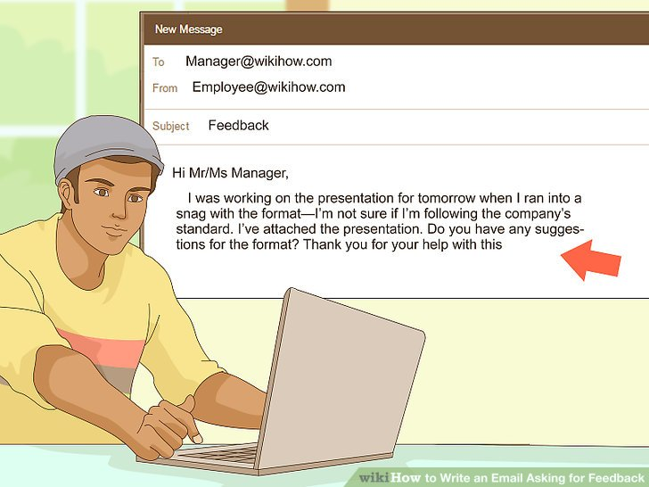 how to request feedback from coworkers email sample