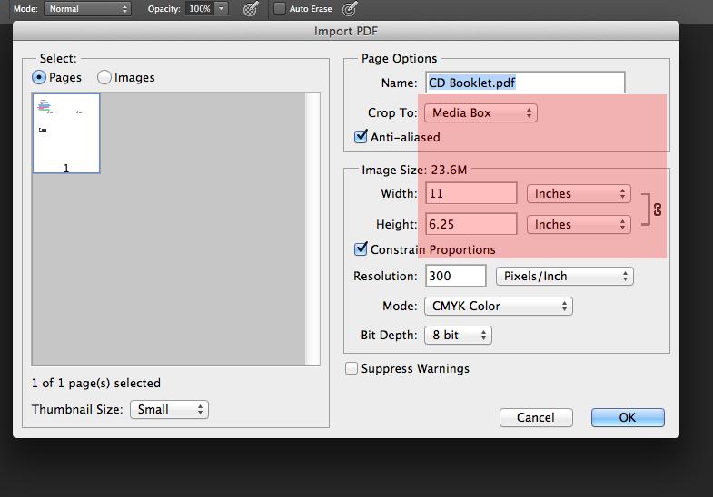 how do you crop a pdf