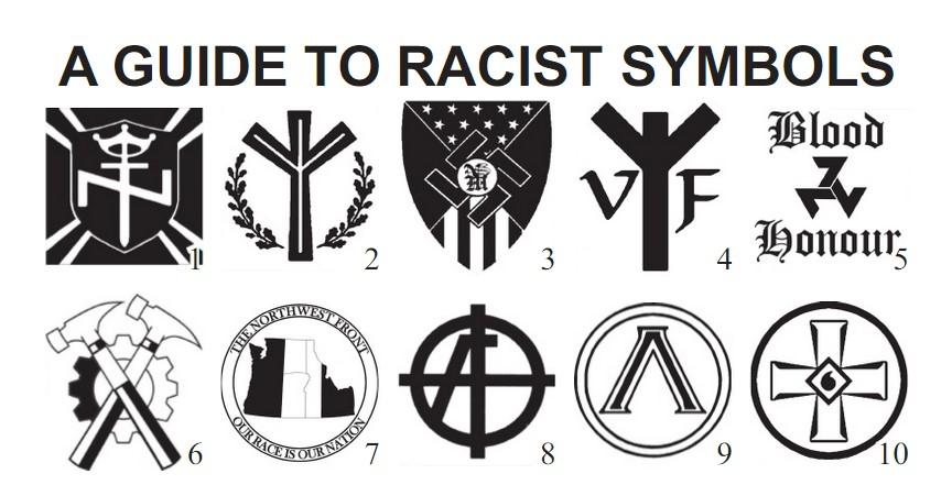 guide to white supremacist symbols