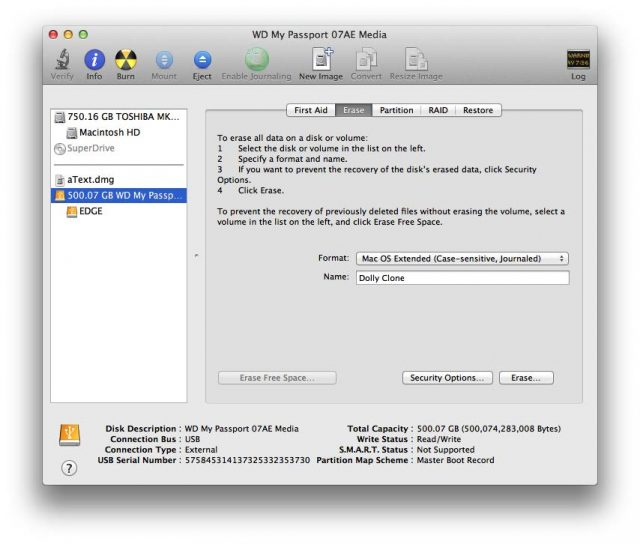 manual select disk drive