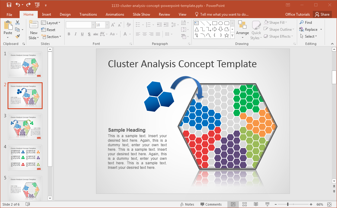 how to analyze cluster sample