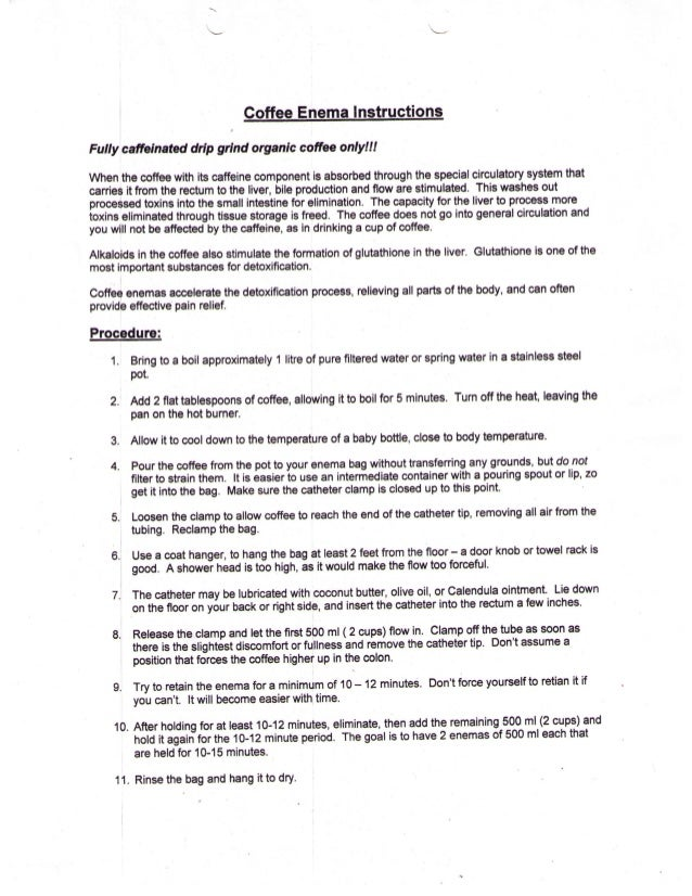 enema instructions