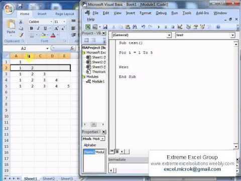 excel macro tutorial pdf