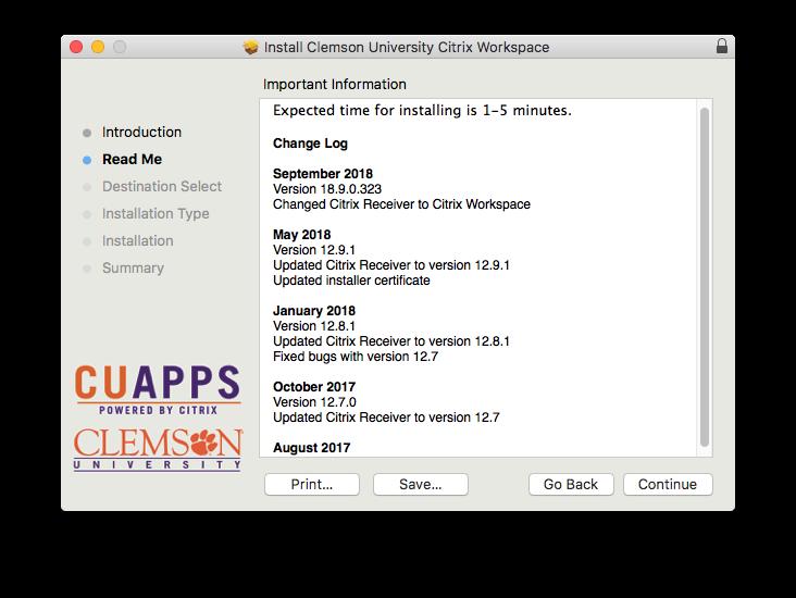 mac installation instruction