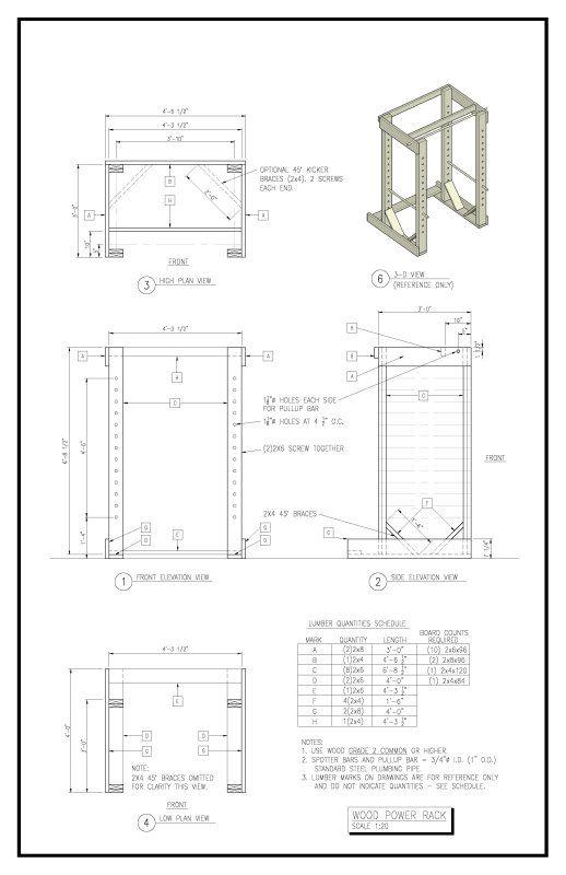 homemade gym equipment plans pdf