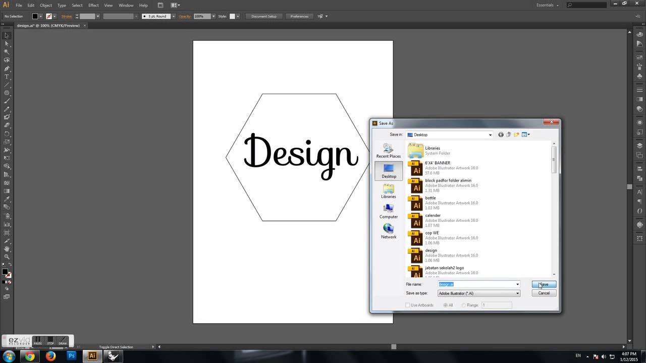 how to export adobe illustrator as pdf