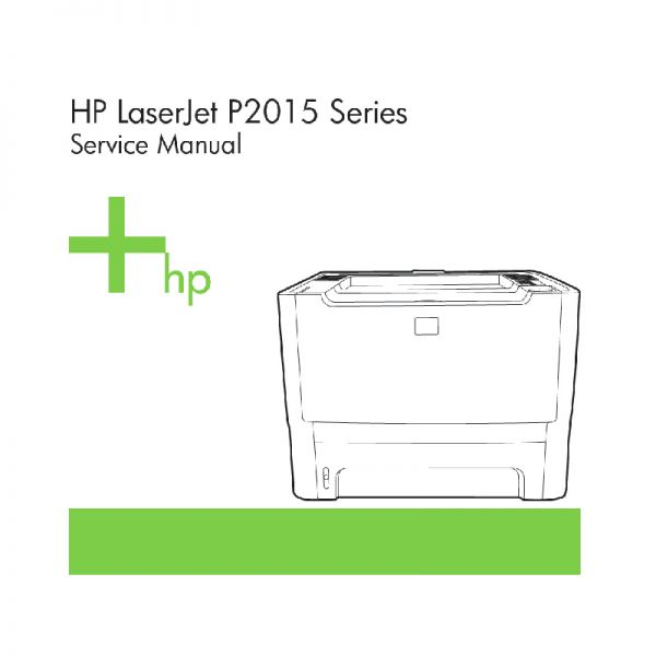 hp laserjet p2015 manual