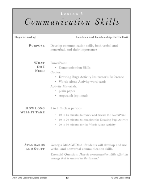 importance of communication skills for students pdf