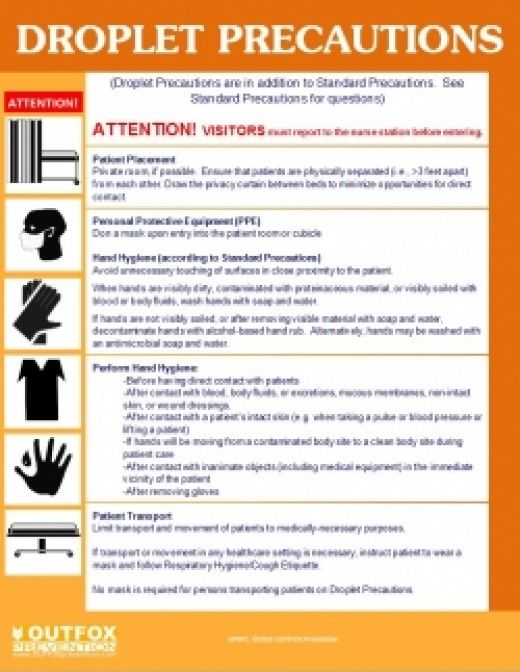 infection control guide nursing