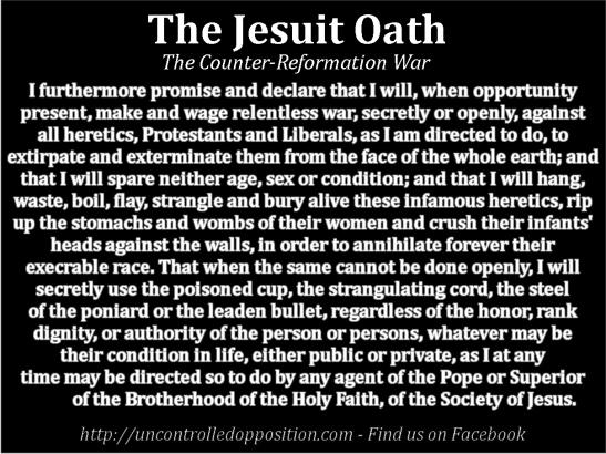 jesuit oath of the pope pdf