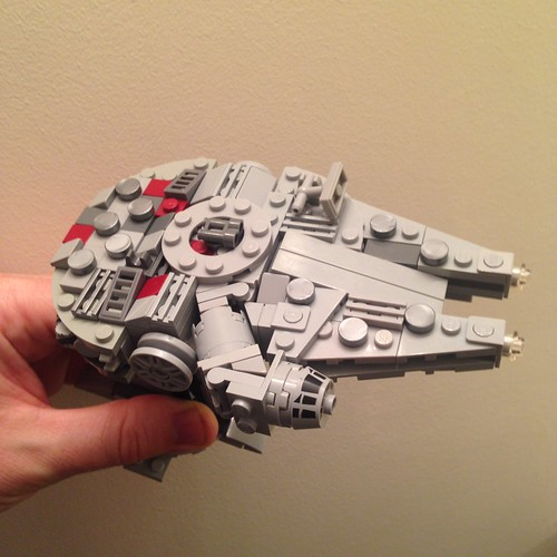 lego instructions for mini millennium falcon