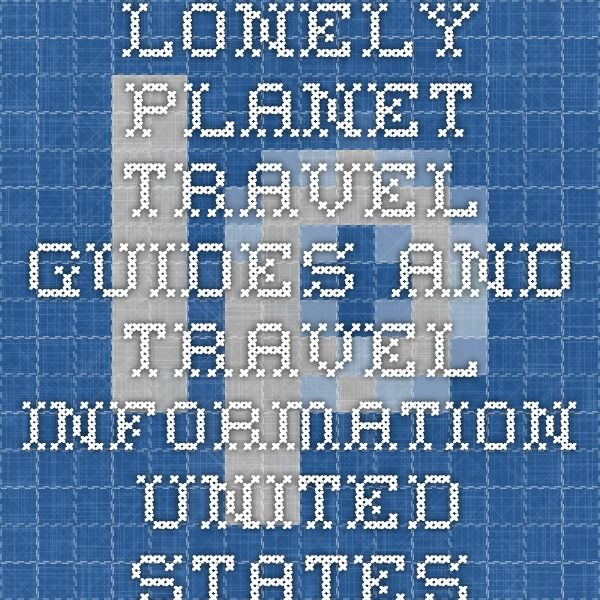 lonely planet western usa travel guide