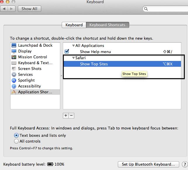 mac os run application hotkey